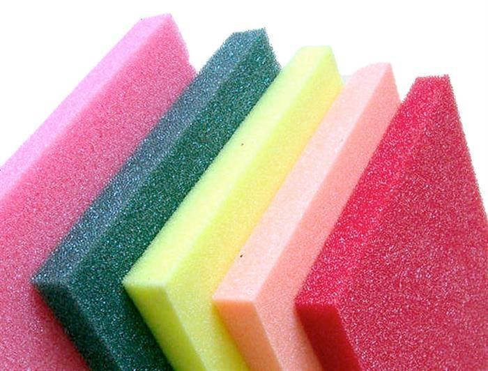 esponja de poliuretano