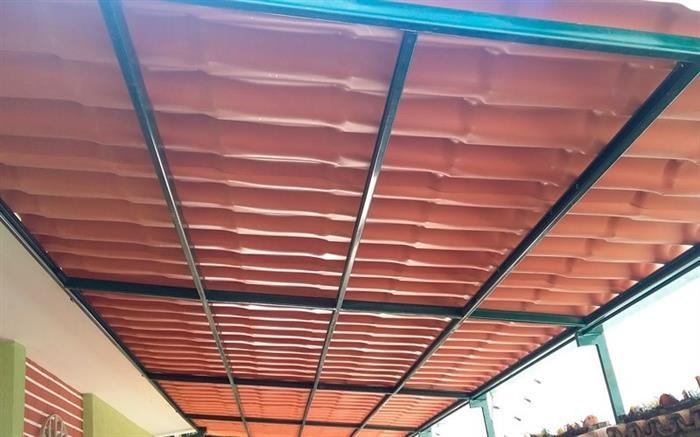 telhado de pvc