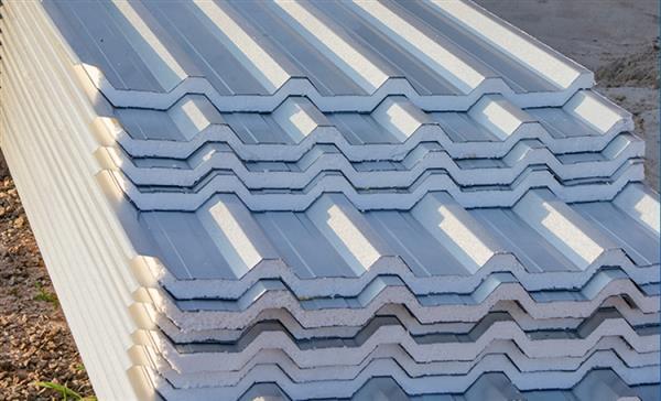 telha de zinco com isopor
