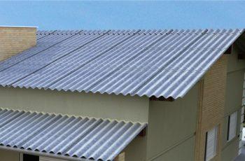 telhado do de fibrocimento