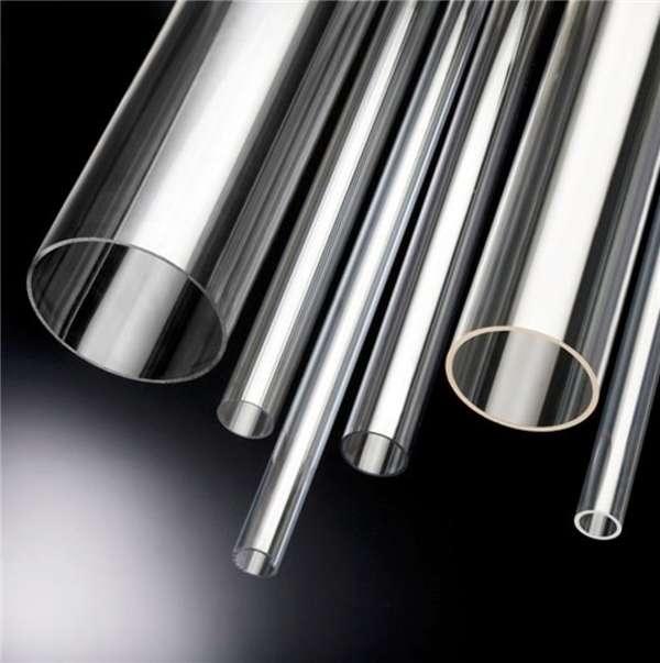 tubo de acrilico